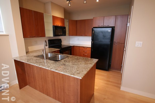 3 Level Unfurnished 3 Bedroom Townhouse For Rent at King Edward Village in East Vancouver. 1480 Cedar Cottage Mews, Vancouver, BC, Canada.