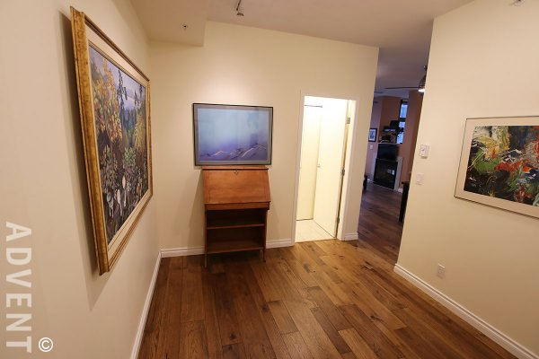 Fully Furnished 2 Bedroom Apartment Rental at Venus in Downtown Vancouver. 2604 - 1239 West Georgia Street, Vancouver, BC, Canada.