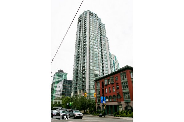 Unfurnished 2 Bedroom Apartment Rental at Venus in Downtown Vancouver. 2604 - 1239 West Georgia Street, Vancouver, BC, Canada.