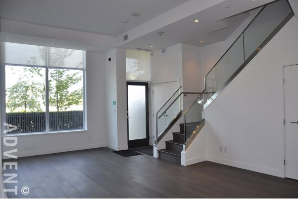 Unfurnished Luxury 2 Bedroom Townhouse Rental at James at The Olympic Village. 238 West 1st Avenue, Vancouver, BC, Canada.