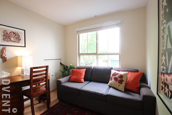 Unfurnished 2 Level 2 Bedroom Townhouse Rental in Kitsilano at Taliesin. 41 - 2375 West Broadway, Vancouver, BC, Canada.