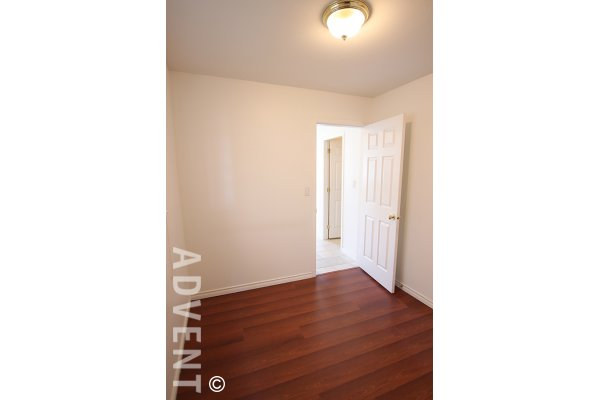 Unfurnished 1 Bedroom Garden Suite Rental in Collingwood in East Vancouver. 2471C East 34th Avenue, Vancouver, BC, Canada.