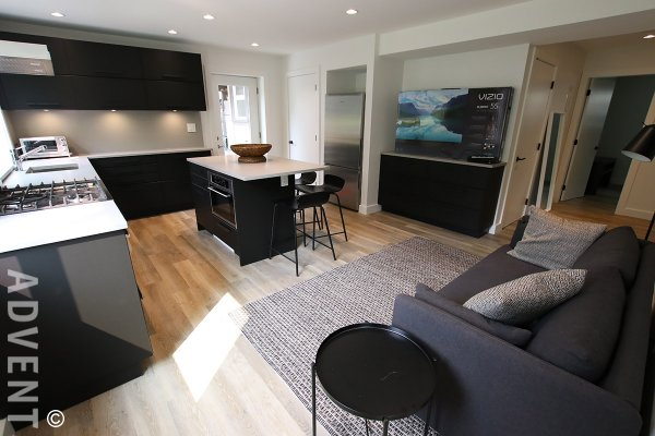 Fully Furnished 2 Bedroom Rental Suite in West Point Grey, Westside Vancouver. 3995 West 23rd Avenue, Vancouver, BC, Canada.