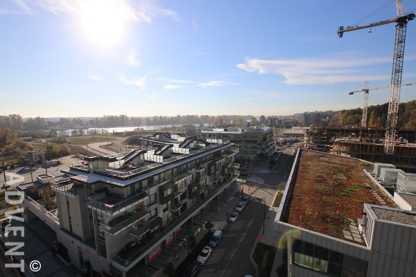 Newer 3 Bedroom Sub Penthouse For Rent at 1 Town Centre in South Vancouver. 1019 - 3557 Sawmill Crescent, Vancouver, BC, Canada.
