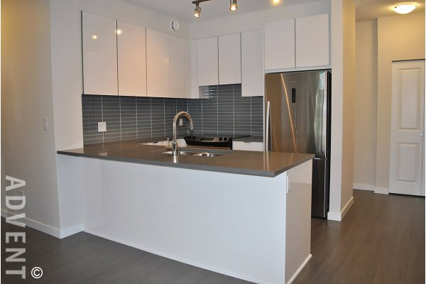 Unfurnished 2 Bedroom Apartment Rental at Veritas at SFU in Burnaby. 316 - 9877 University Crescent, Burnaby, BC, Canada.