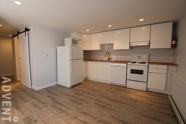 Unfurnished 1 Bedroom Basement Suite For Rent in South Burnaby. 5027B Watling Street, Burnaby, BC, Canada.