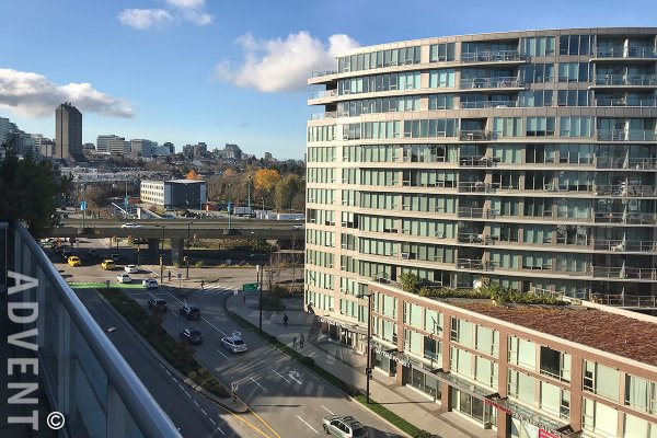 2 Bedroom Unfurnished Apartment For Rent at Montreux in Westside Vancouver. 704 - 2055 Yukon Street, Vancouver, BC, Canada.