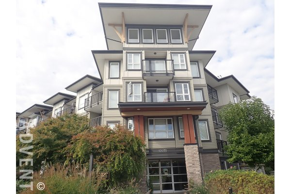 Unfurnished 1 Bedroom Apartment For Rent at The Edge in Maple Ridge. 311 - 12075 Edge Street, Maple Ridge, BC, Canada.