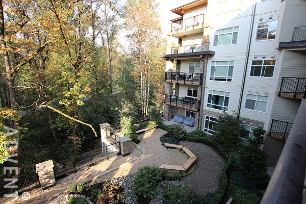 The Orchid at Riverside 1 Bedroom Apartment Rental in Central Port Coquitlam. 411 - 2495 Wilson Avenue, Port Coquitlam, BC, Canada.