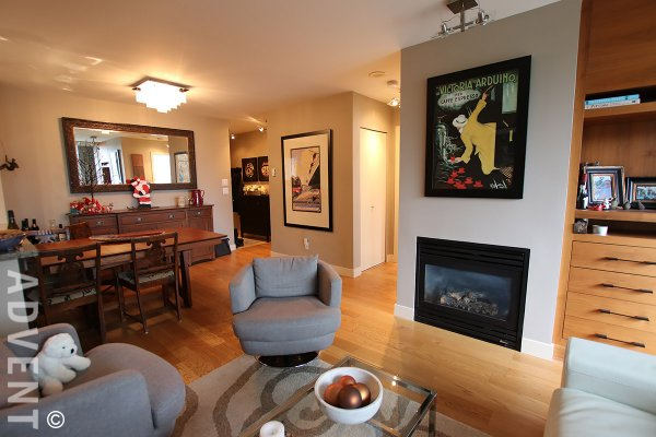 Unfurnished 2 Bedroom Apartment Rental at The Compton in Fairview, Westside Vancouver. 301 - 1316 West 11th Avenue, Vancouver, BC, Canada.