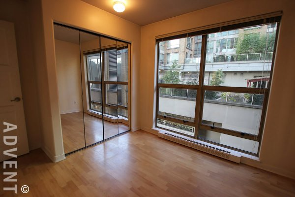 Unfurnished 2 Bedroom Apartment Rental at Eight One Nine in Yaletown. 310 - 819 Hamilton Street, Vancouver, BC, Canada.