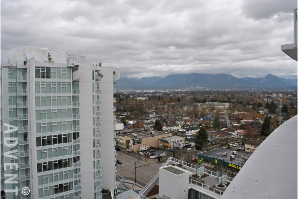 Unfurnished 2 Bed Apartment Rental at Kensington Gardens in Renfrew, East Vancouver. 1710 - 2220 Kingsway, Vancouver, BC, Canada.