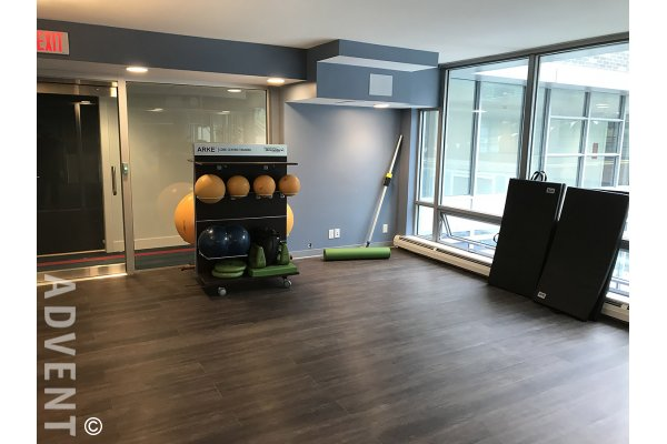 Brand New 2 Bed + Flex & Solarium Apartment Rental at Tate Downtown in Vancouver. 1904 - 1283 Howe Street, Vancouver, BC, Canada.