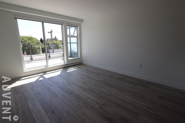Huge, Brand New 1 Bedroom Apartment Rental With Rooftop Patio at Midtown Modern in Mount Pleasant, East Vancouver. 404 - 630 East Broadway, Vancouver, BC, Canada.