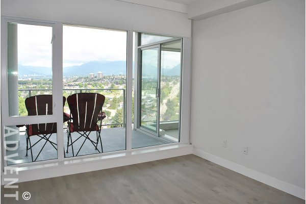Brand New 20th Floor Luxury Apartment Rental With a View at Escala in Brentwood. 2007 - 1788 Gilmore Avenue, Burnaby, BC, Canada.