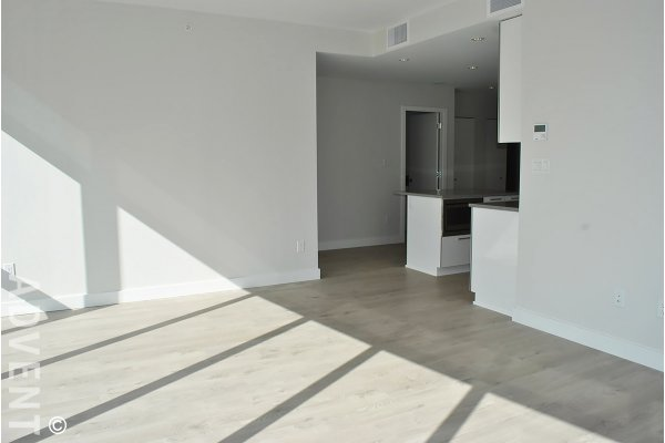 Brand New 2 Bed Panoramic View Apartment Rental at Escala in Brentwood. 2410 - 1788 Gilmore Avenue, Burnaby, BC, Canada.