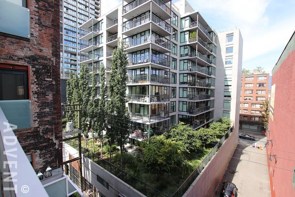 Paris Block Modern & Spacious 1 Bed Loft Rental in Gastown, Vancouver. 508 - 53 West Hastings Street, Vancouver, BC, Canada.