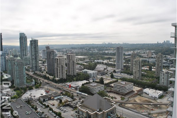 Luxury 40th Floor 2 Bedroom Apartment Rental at Escala in Brentwood, Burnaby. 4002 - 1788 Gilmore Avenue, Burnaby, BC, Canada.