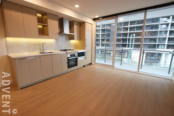 Modern 4th Floor Unfurnished 1 Bedroom Apartment For Rent at The Arc in Yaletown, Vancouver. 413 - 89 Nelson Street, Vancouver, BC, Canada.
