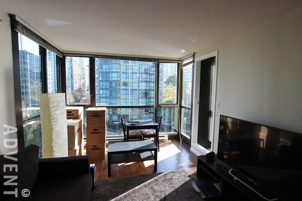 1 Bed & Solarium City View Apartment Rental at The Lions in Downtown Vancouver. 607 - 1367 Alberni Street, Vancouver, BC, Canada.