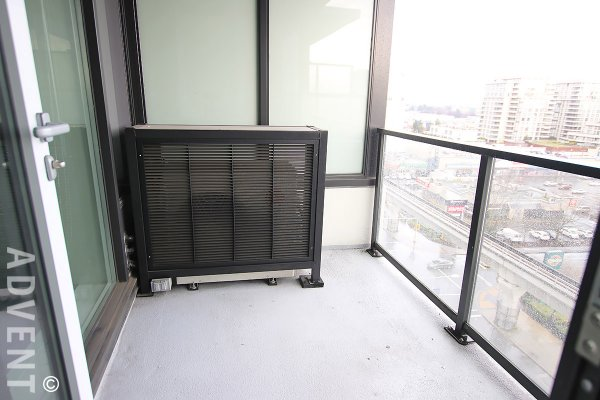 Unfurnished 1 Bedroom Apartment Rental at Quintet in Brighouse, Richmond. 1211 - 7988 Ackroyd Road, Richmond, BC, Canada.