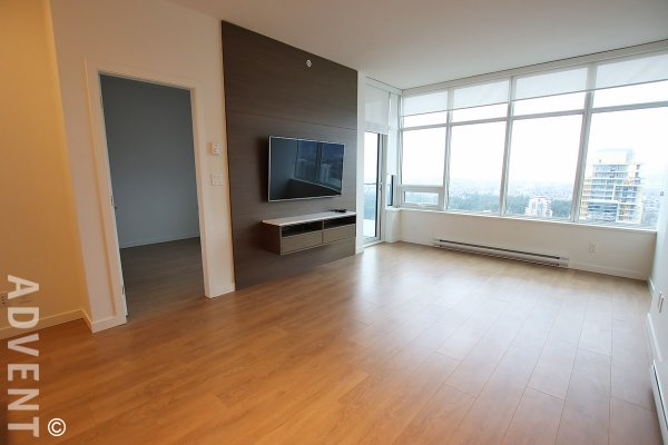 Luxury 1 Bed Apartment Rental With Amazing City Views at Metroplace in Metrotown, Burnaby. 5808 - 6461 Telford Avenue, Burnaby, BC, Canada.