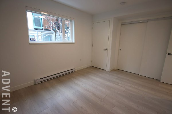 Modern 1 Bedroom Townhouse For Rent at Arne in Mount Pleasant, East Vancouver. 106 - 321 East 16th Avenue, Vancouver, BC, Canada.