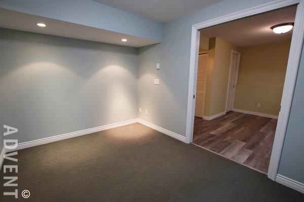 Unfurnished One Bedroom Basement Suite Rental in Renfrew, East Vancouver. 4335B Atlin Street, Vancouver, BC, Canada.