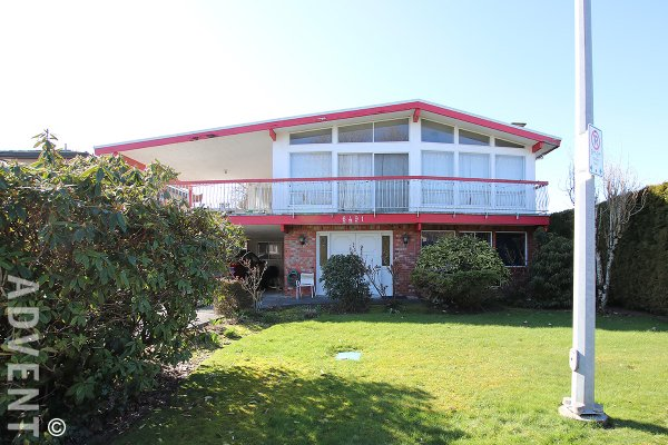 Unfurnished 2 Bedroom Lower Level of House For Rent in Richmond (Garden Suite). 6491B Gainsborough Drive, Richmond, BC, Canada.