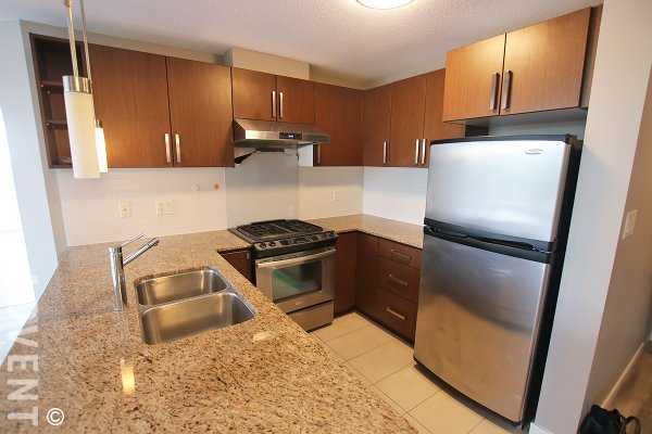 Unfurnished 23rd Floor 2 Bedroom Apartment Rental at Silhouette South in Burnaby. 2308 - 9888 Cameron Street, Burnaby, BC, Canada.
