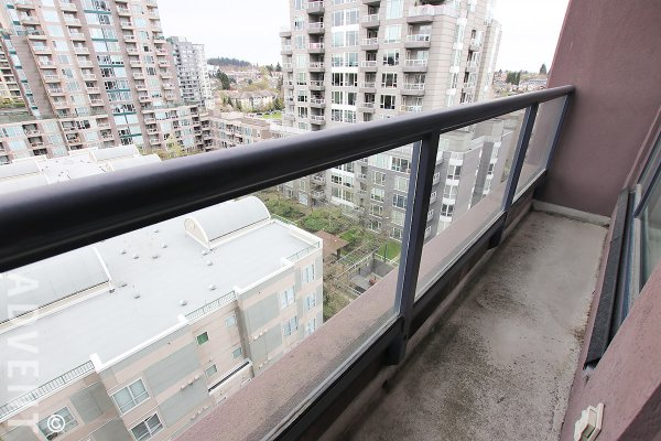 Unfurnished Studio Rental With Built-in Murphy Bed at Centro in East Vancouver. 909 - 3438 Vanness Avenue, Vancouver, BC, Canada.
