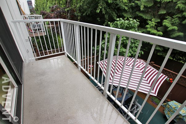 Sussex Square Unfurnished 1 Bedroom Apartment Rental in Richmond. 216 - 7240 Lindsay Road, Richmond, BC, Canada.