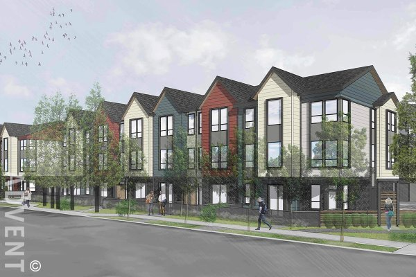 UNIT D: Brand New 2 Level 3 Bed 2 Bath Townhouse Rentals at The Post in Ladner, Delta. The Post (Unit D) 4771 54A Street, Ladner, BC, Canada.