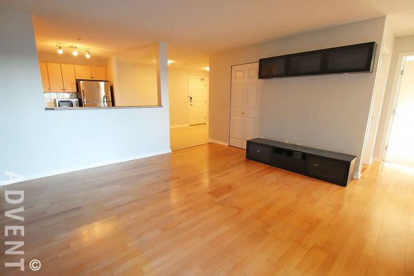 Copperstone Unfurnished 1 Bedroom & Den Apartment Rental in New Westminster, Sapperton. 2309 - 244 Sherbrooke Street, New Westminster, BC, Canada.