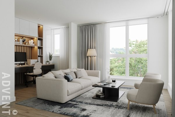 Brand New 3 Bedroom Unfurnished Apartment Rentals at Victoria in Central Lonsdale, North Vancouver. 127 East 12th Street, North Vancouver, BC, Canada.