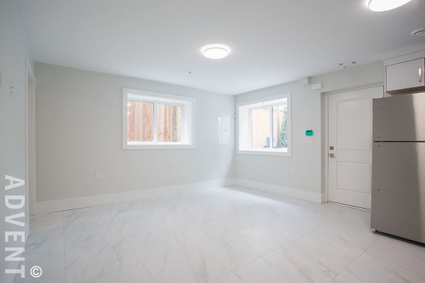 Brand New Unfurnished 2 Bedroom Garden Suite Rental in Renfrew-Collingwood, East Vancouver. 2441B East 40th Avenue, Vancouver, BC, Canada.