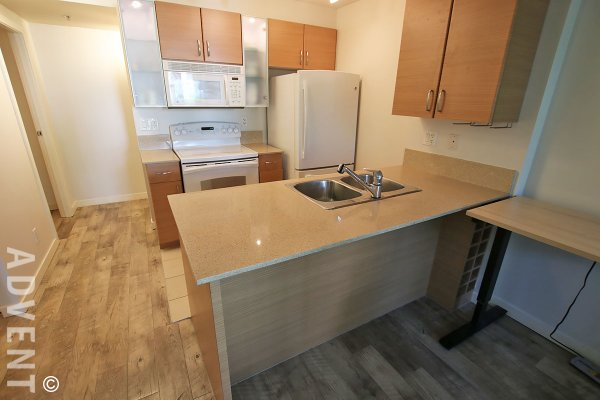 Fully Furnished 3rd Floor 1 Bedroom & Den Apartment Rental at Yaletown Park in Vancouver. 307 - 928 Homer Street, Vancouver, BC, Canada.