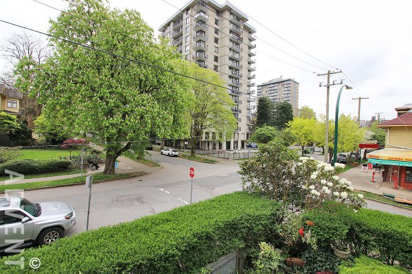 The Village 2 Level 2 Bedroom Unfurnished Townhouse For Rent in Vancouver's West End. 1503 Barclay Street, Vancouver, BC, Canada.