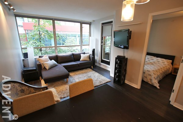 Modern 3rd Floor 2 Bedroom Apartment Rental at Galileo in Downtown Vancouver. 301 - 822 Homer Street, Vancouver, BC, Canada.