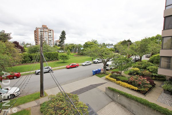 Modern 3rd Floor 1 Bedroom Apartment Rental at Aish Place in Kerrisdale, Westside Vancouver. 302 - 5926 Yew Street, Vancouver, BC, Canada.