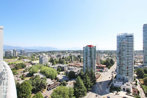 Brand New Mountain & City View 20th Floor Apartment Rental at Linea in Whalley, Surrey. 2004 - 13318 104 Avenue, Surrey, BC, Canada.