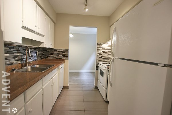 Ground Level 1 Bedroom Townhouse Rental at Kingswood Downes in Ironwood, Richmond. 119 - 11791 King Road, Richmond, BC, Canada.
