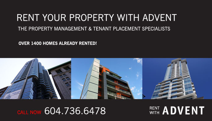 Rent with ADVENT - The Rental Property Management Specialists