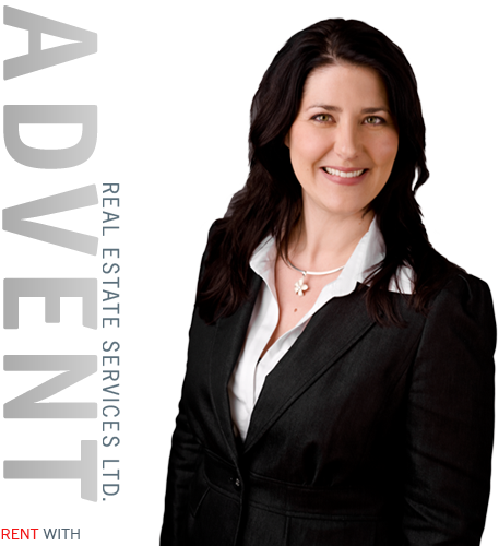 Michelle Farina, Owner, Director and Managing Broker of Advent Real Estate Services Ltd.