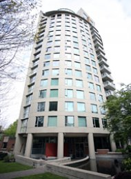 1 Bedroom Apartment For Rent at The Jetson in Vancouver's West End. 404 - 1277 Nelson Street, Vancouver, BC, Canada.