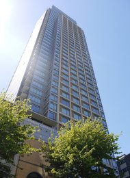 Unfurnished 1 Bedroom Apartment Rental at Patina in Vancouver's West End. 1101 - 1028 Barclay Street, Vancouver, BC, Canada.